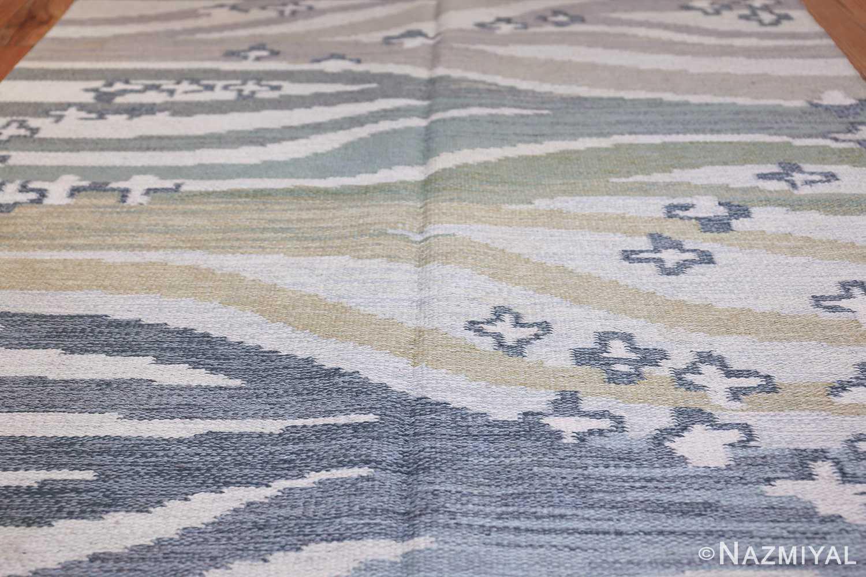 Vintage Swedish Rug by Britta Randahl Ljusterdal 45517 Field Design Nazmiyal