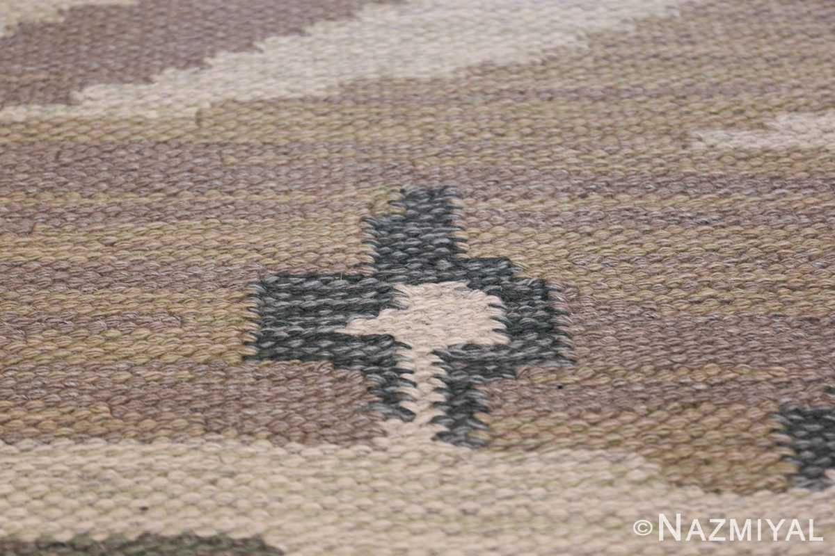 Vintage Swedish Rug by Britta Randahl Ljusterdal 45517 Lonely Cross Star Nazmiyal