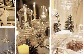 Winter Wonderland Table Decor - Nazmiyal