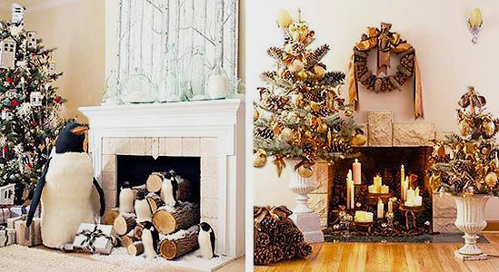 Christmas Interior Design Room With Holiday Decorations by nazmiyal