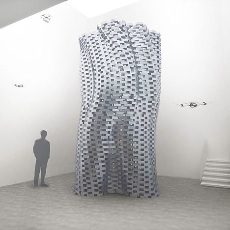 Flight Assembled Architecture by Gramazio and Kohler and Raffaello d'Andrea - Nazmiyal
