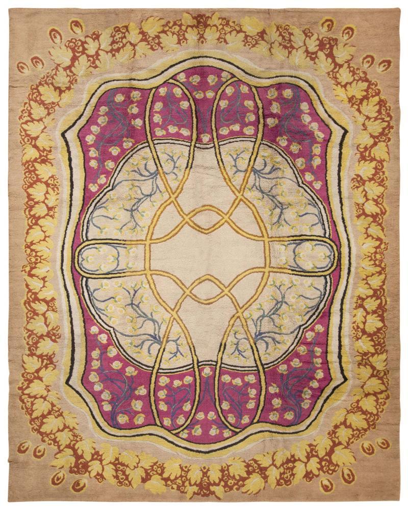 Antique Art Nouveau European Rug 45624