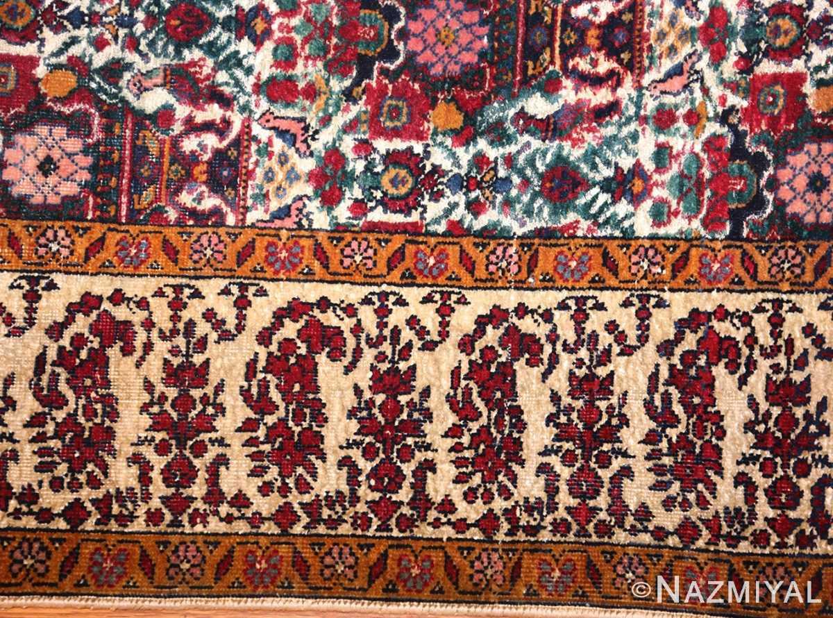 antique persian silk farahan rug 44916 border Nazmiyal