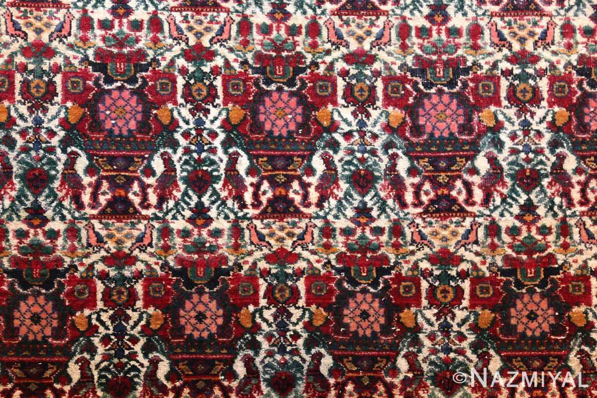 antique persian silk farahan rug 44916 field Nazmiyal