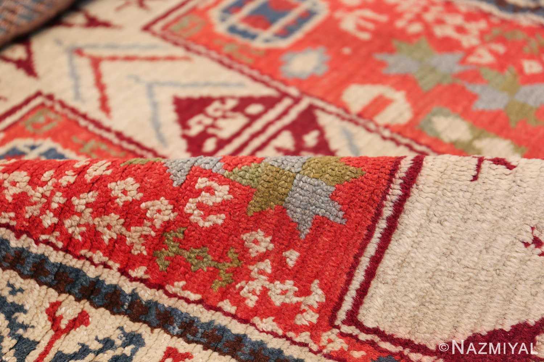 Antique Spanish Rug 45658 Geometric Pile Nazmiyal