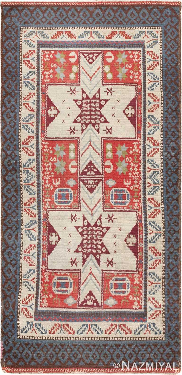 Antique Spanish Rug 45658 Nazmiyal