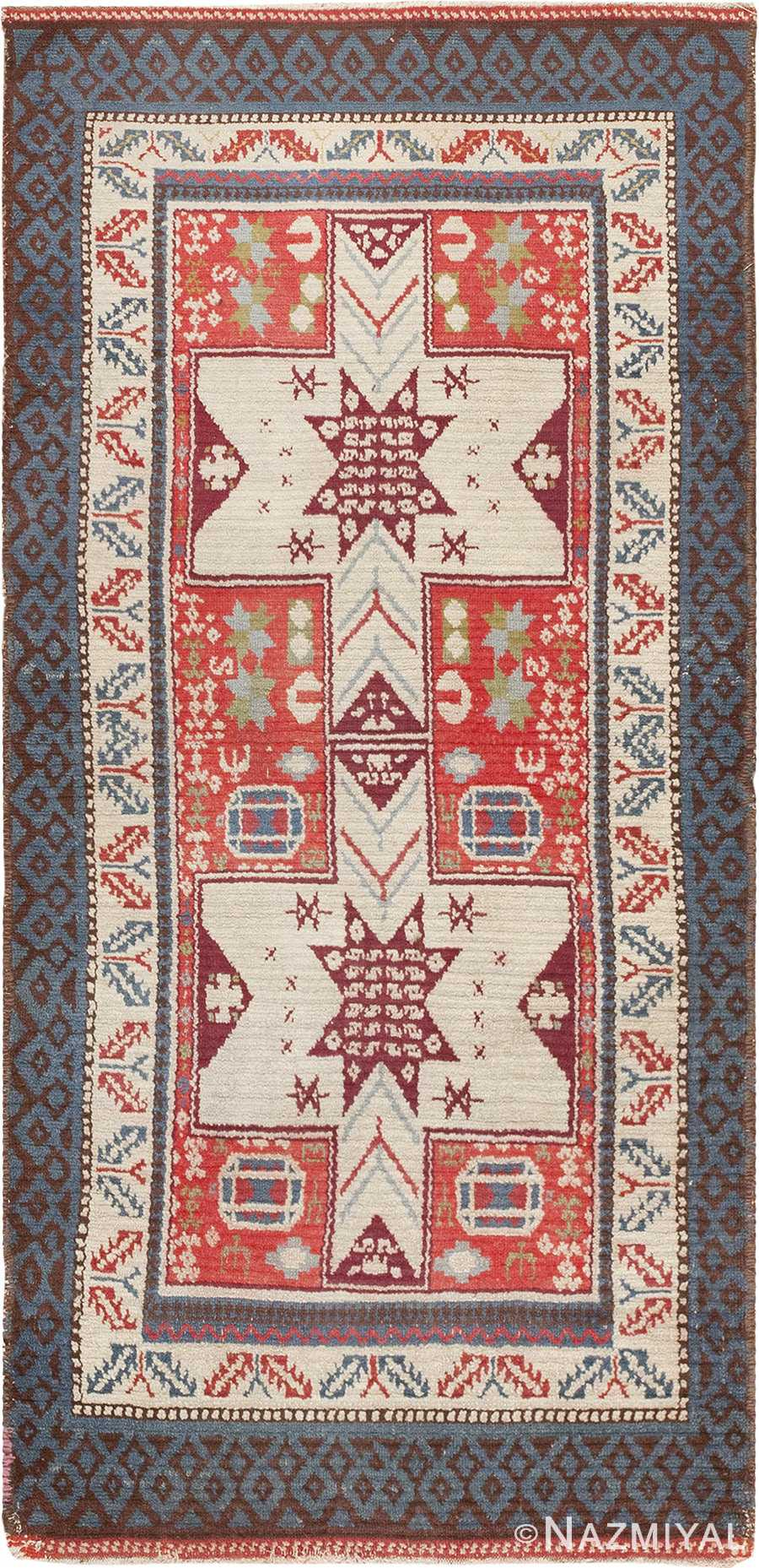 Antique Spanish Rug 45658 Nazmiyal