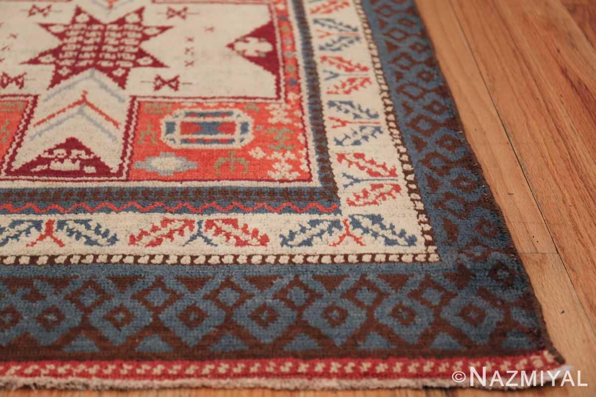 Antique Spanish Rug 45658 Side Corner Nazmiyal