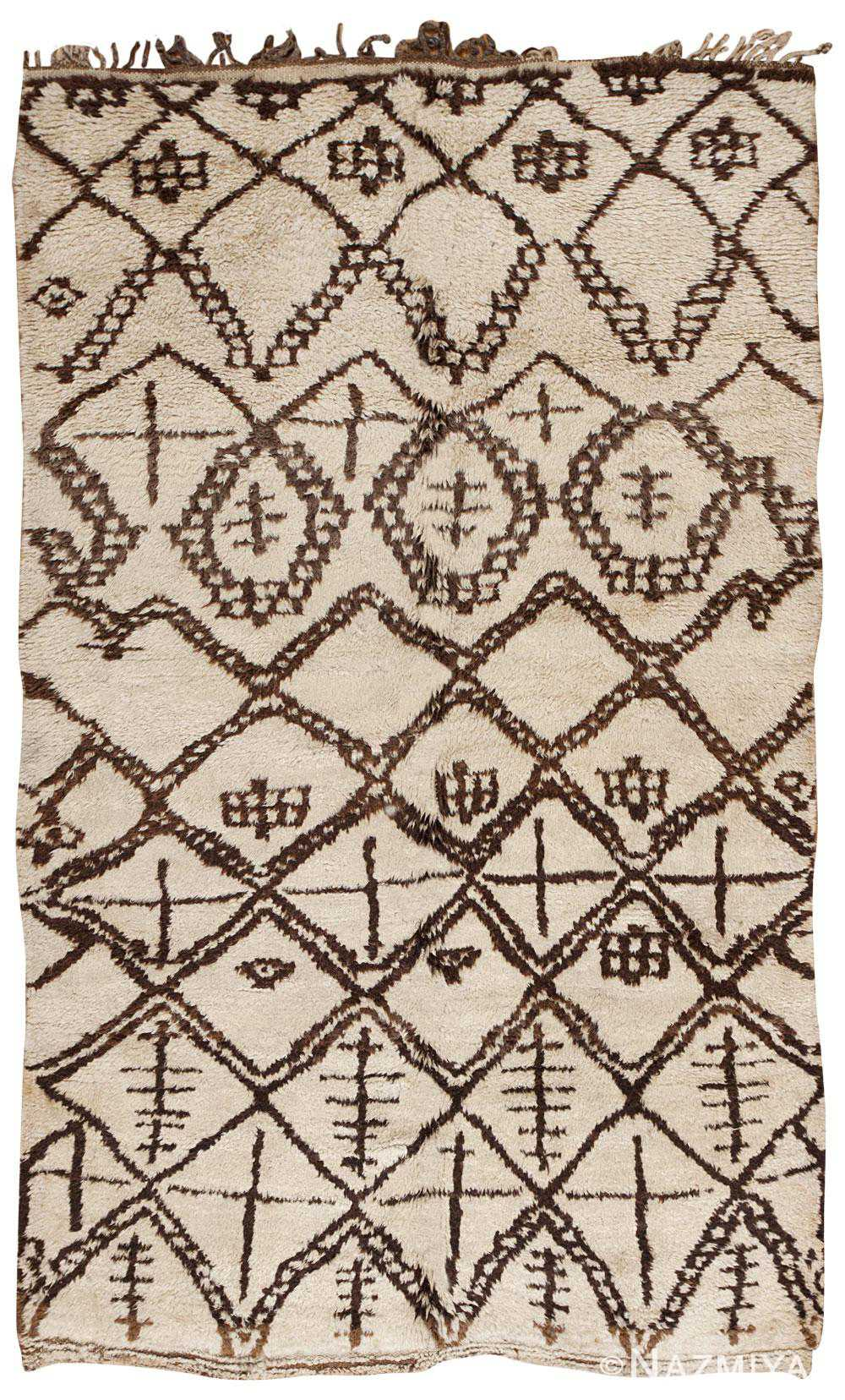Vintage Moroccan Rug 45601 Detail/Large View