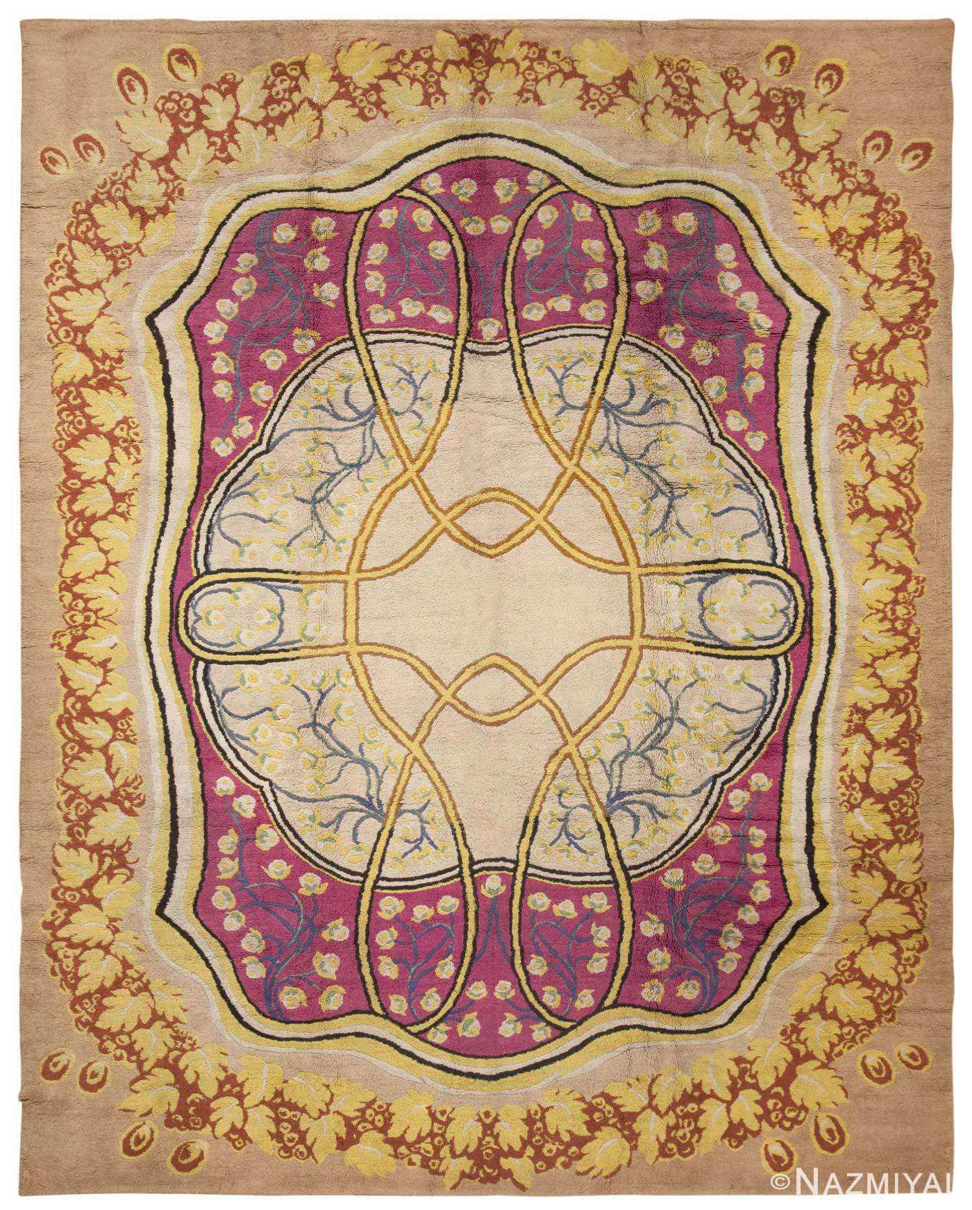Antique European Rug 45624 Detail/Large View - By Nazmiyal