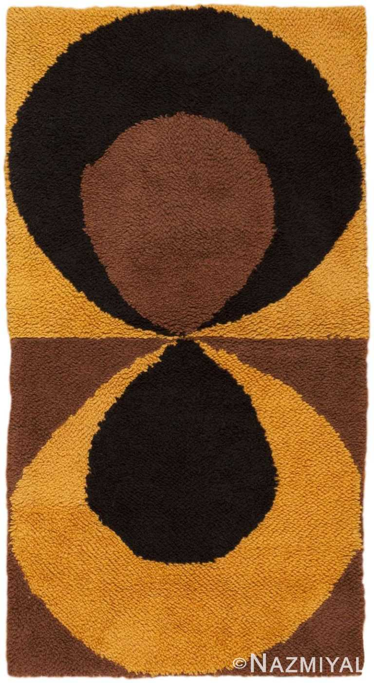 Vintage Swedish Rug 45667 Detail/Large View