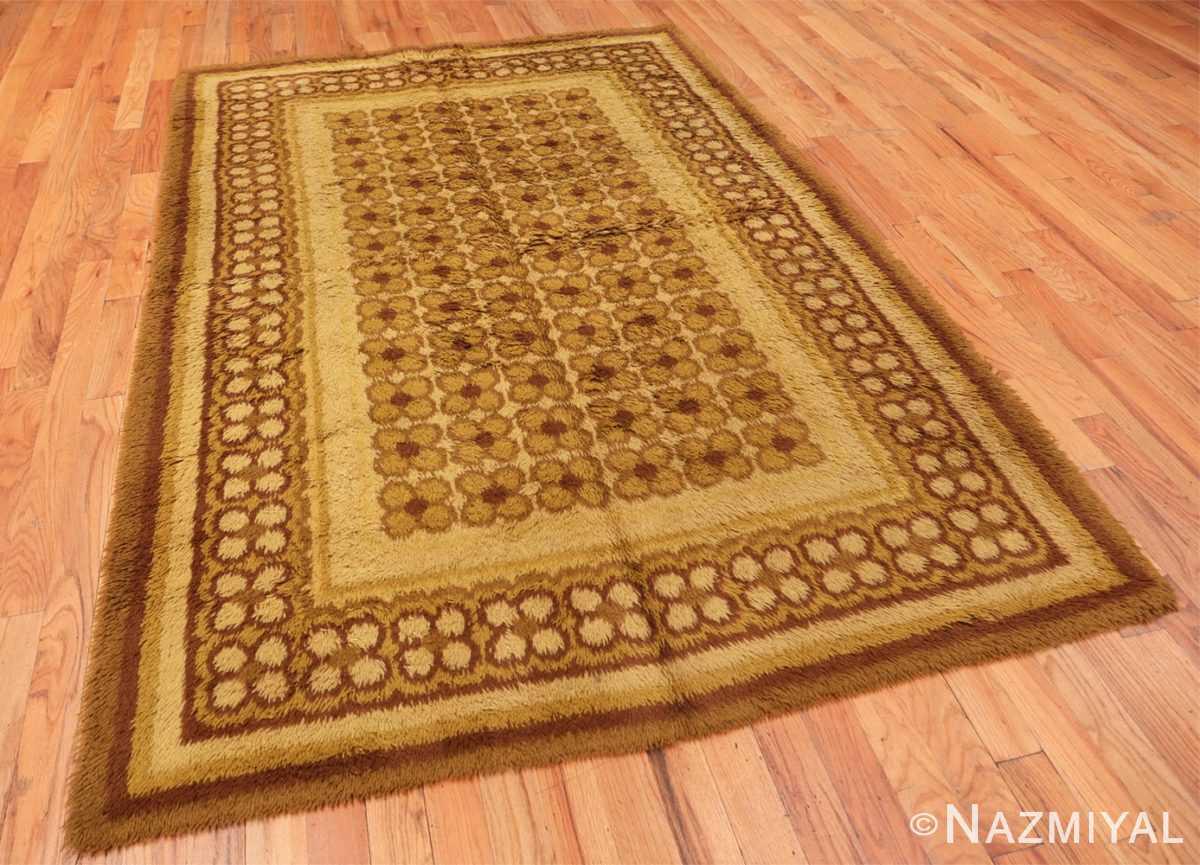 Full vintage Scandinavian Rya rug 45535 by Nazmiyal