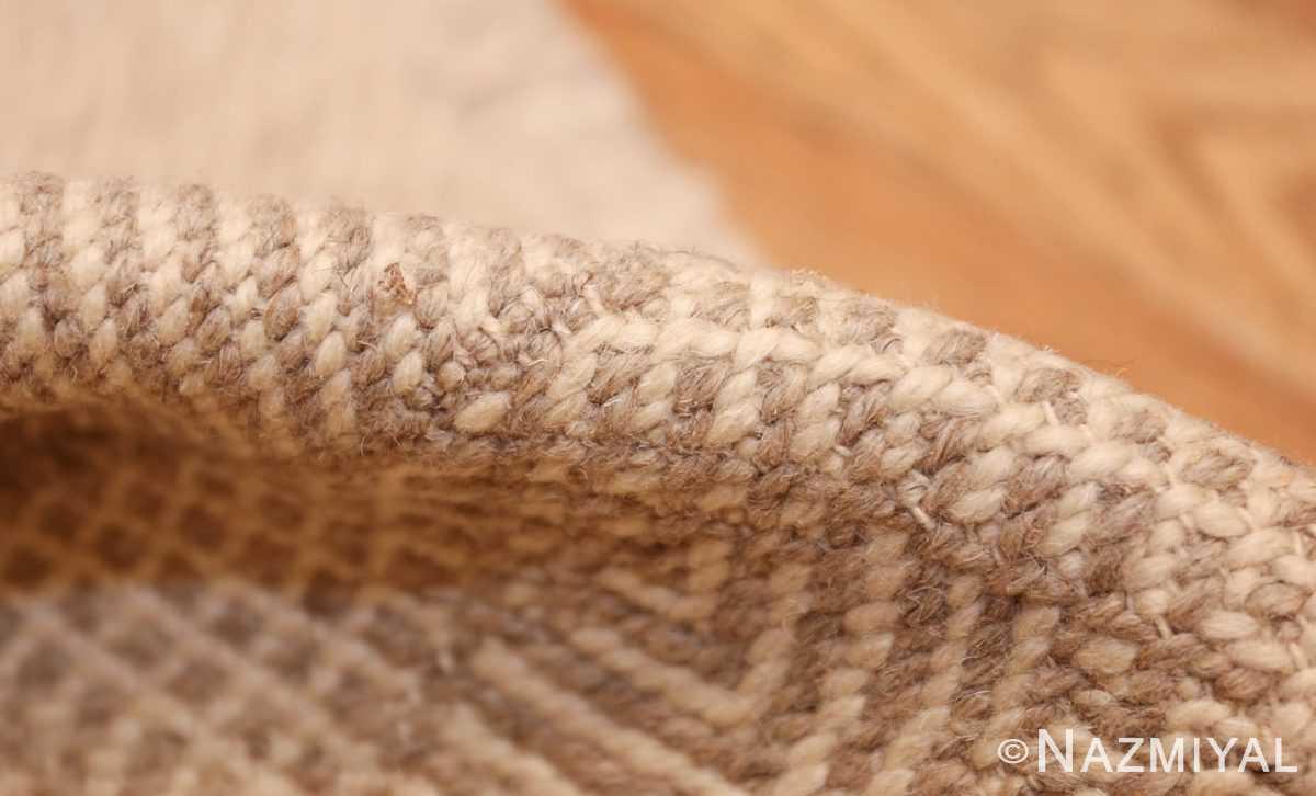 vintage kilim moroccan rug 45693 pile Nazmiyal