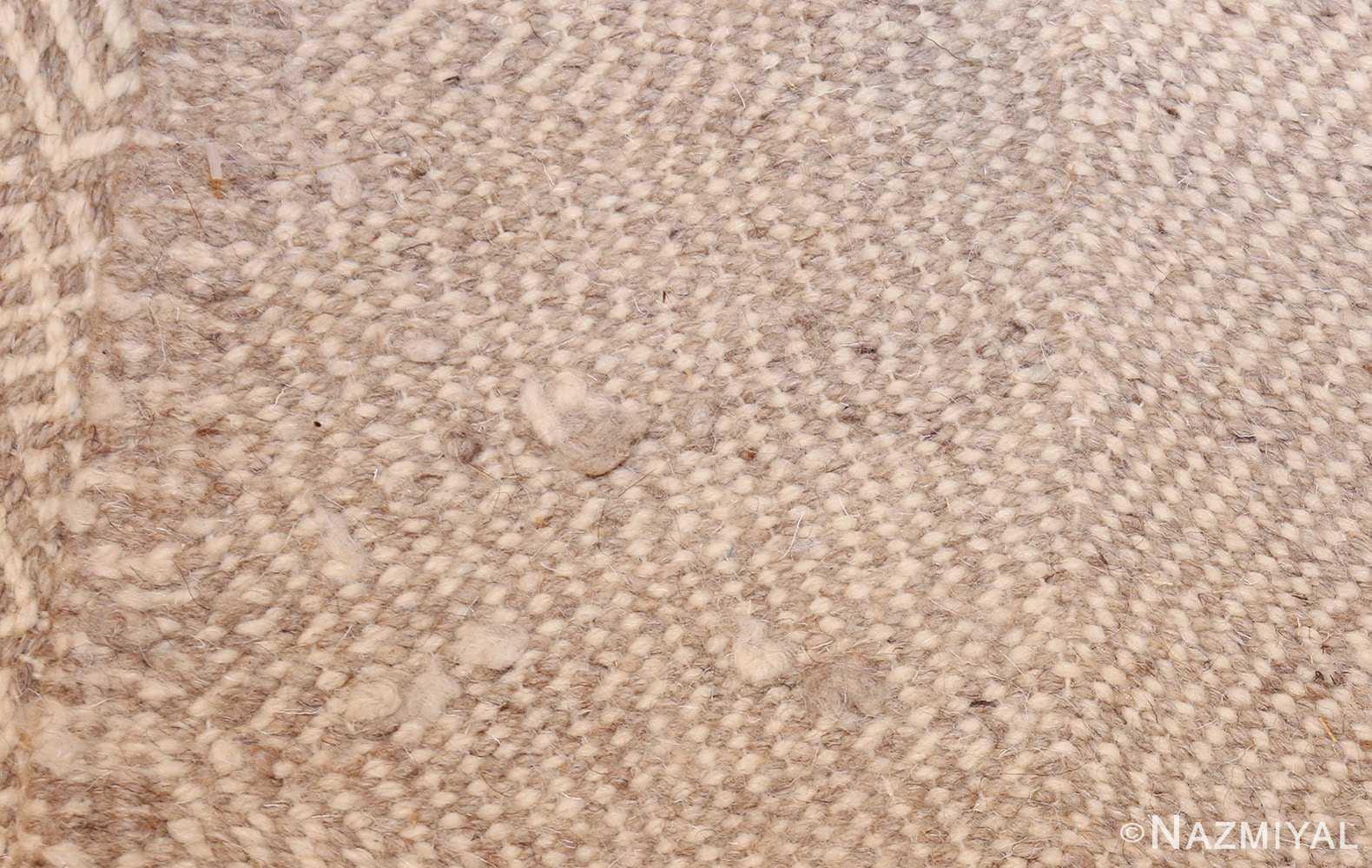 vintage kilim moroccan rug 45693 weave Nazmiyal