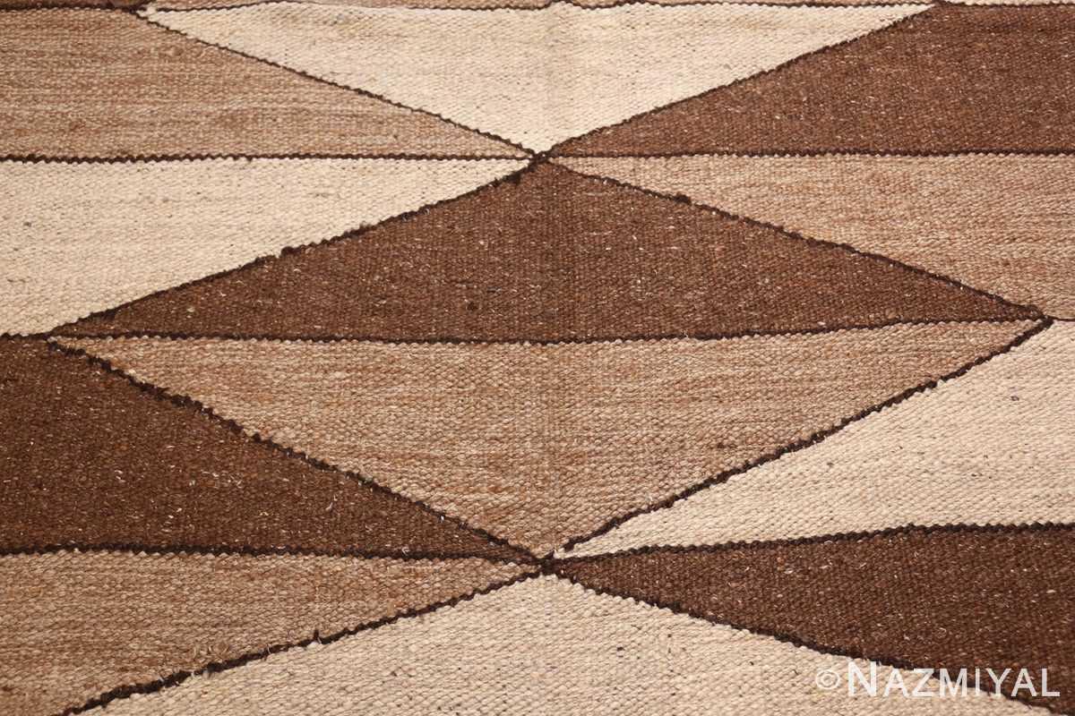 vintage moroccan kilim 45690 diamond Nazmiyal