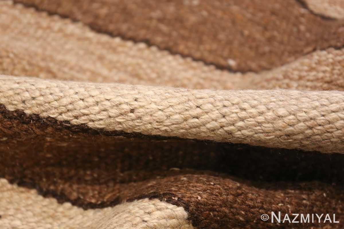 vintage moroccan kilim 45690 pile Nazmiyal