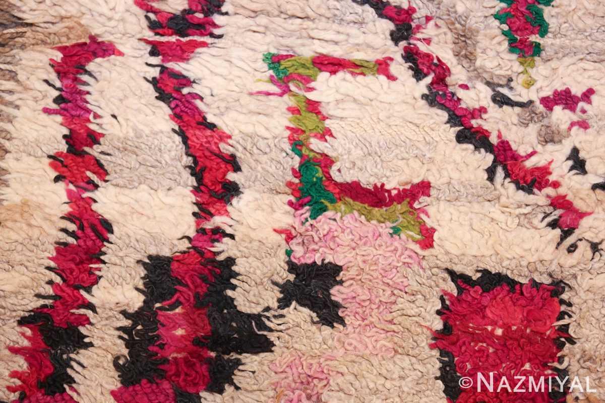 vintage moroccan rug 45608 color Nazmiyal