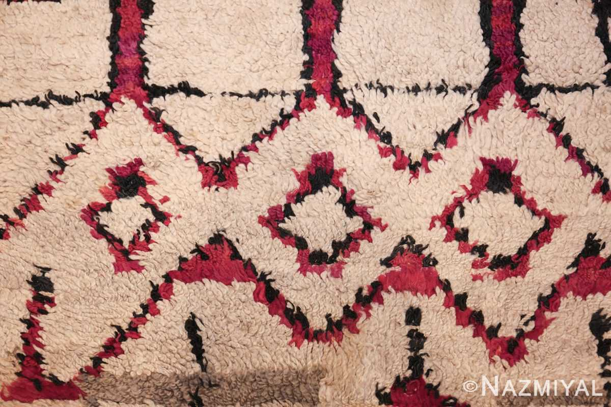 vintage moroccan rug 45608 design Nazmiyal