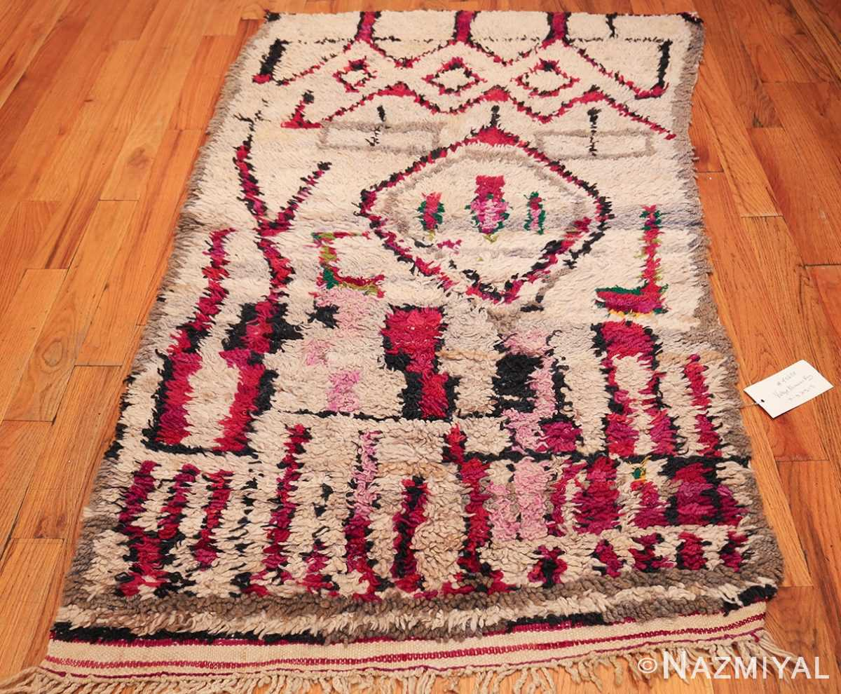 vintage moroccan rug 45608 whole Nazmiyal