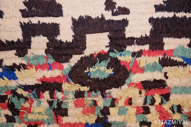 vintage moroccan rug 45614 circle Nazmiyal