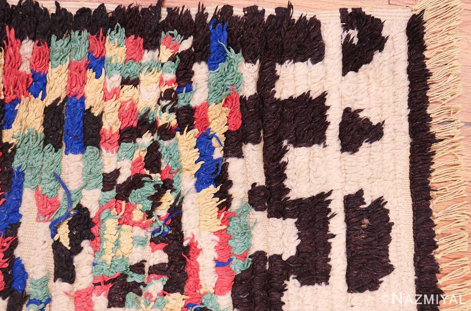 vintage moroccan rug 45614 corner Nazmiyal