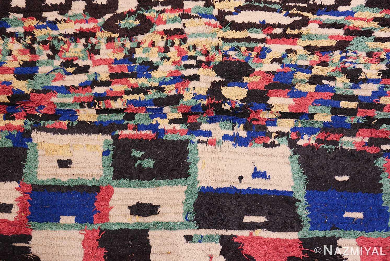 vintage moroccan rug 45614 field Nazmiyal
