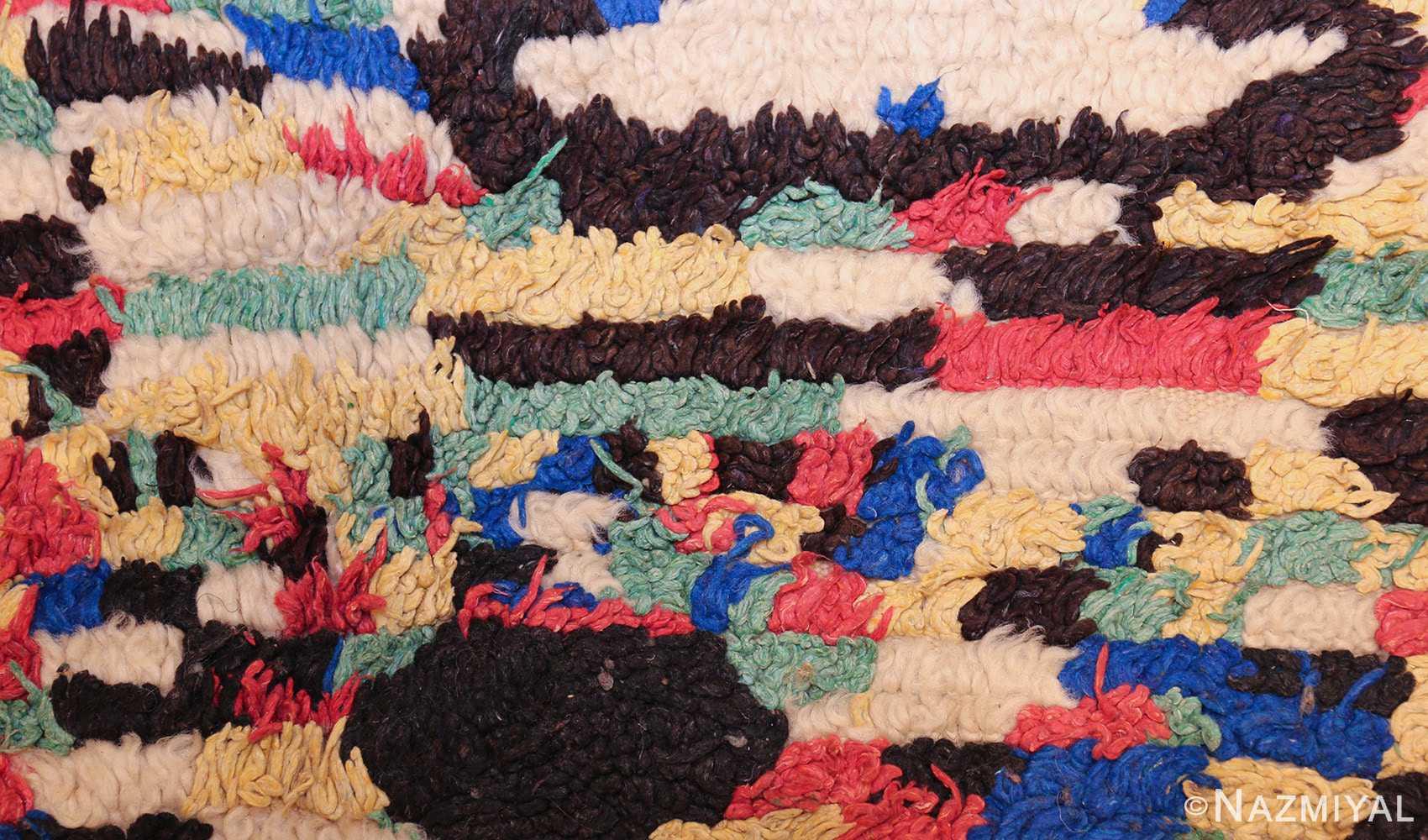 vintage moroccan rug 45614 texture Nazmiyal