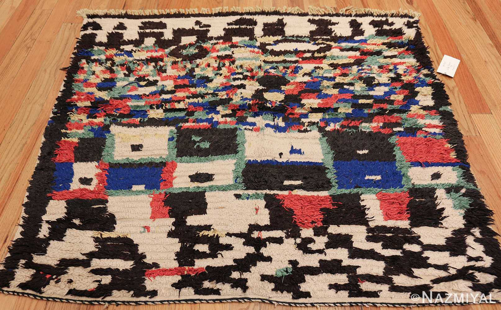 vintage moroccan rug 45614 whole Nazmiyal