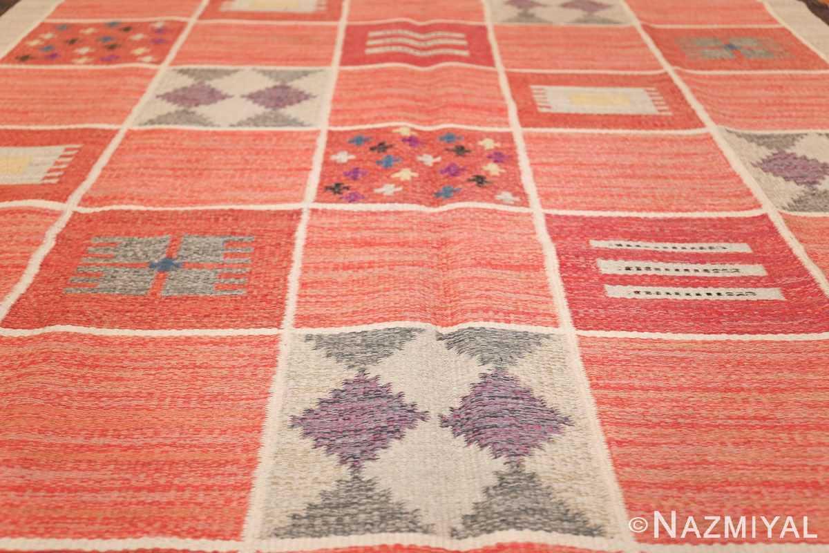 vintage scandinavian swedish kilim rug by rakel callander 45646 field Nazmiyal