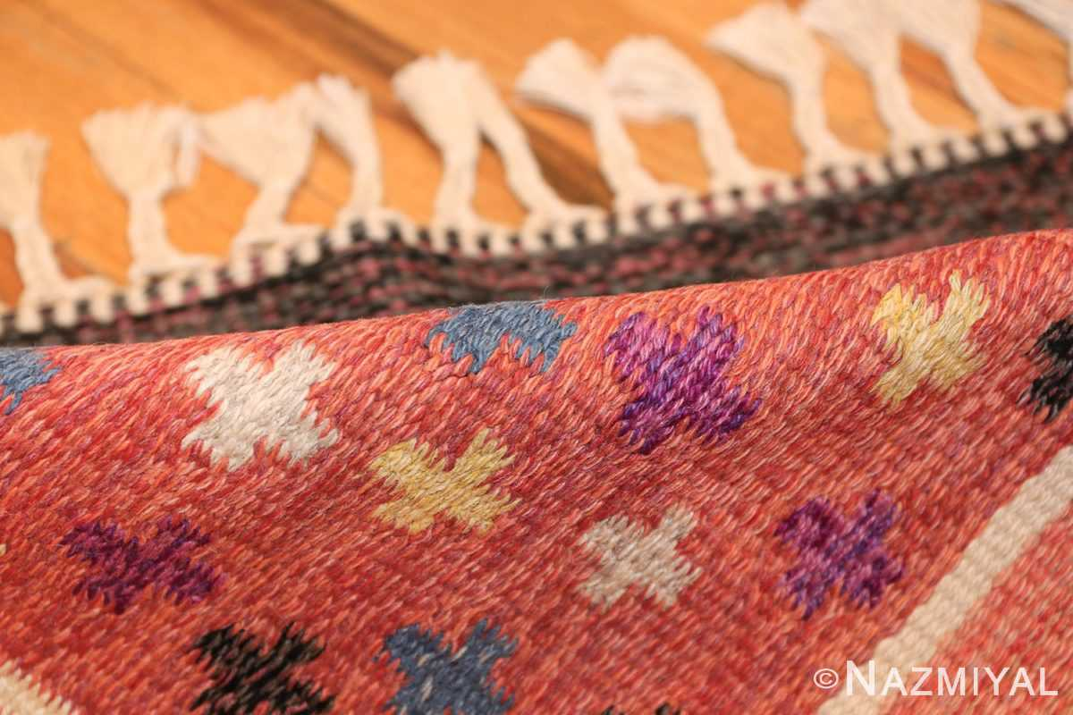 vintage scandinavian swedish kilim rug by rakel callander 45646 pile Nazmiyal