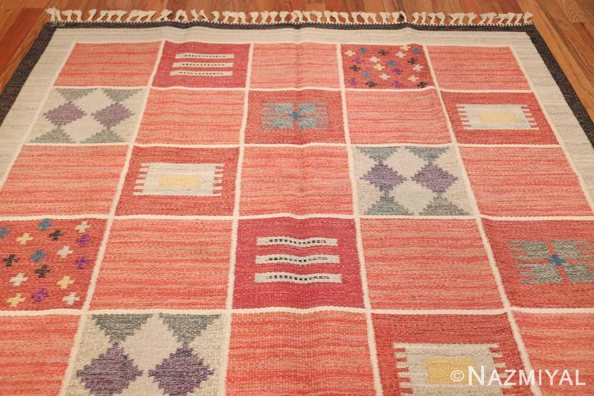 vintage scandinavian swedish kilim rug by rakel callander 45646 top Nazmiyal