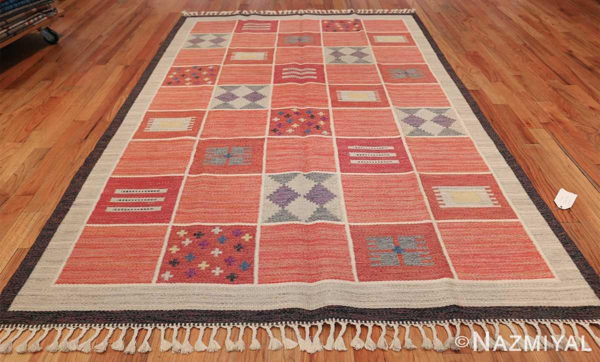 vintage scandinavian swedish kilim rug by rakel callander 45646 whole Nazmiyal