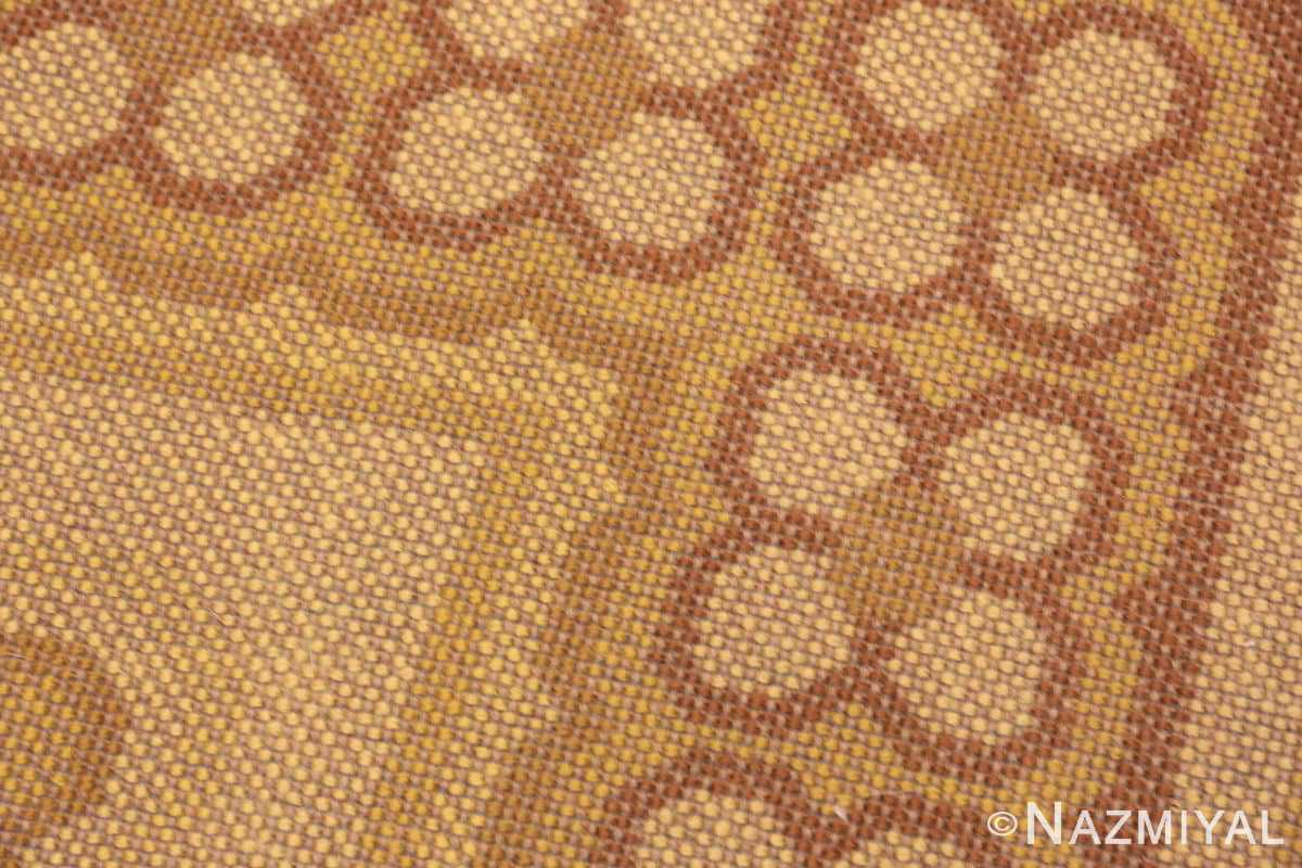 Weave vintage Scandinavian Rya rug 45535 by Nazmiyal