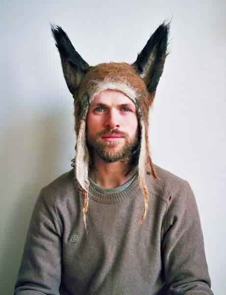 Men's Fox Hat - Nazmiyal