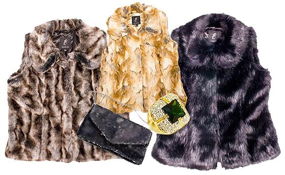 Furry Vests - Nazmiyal