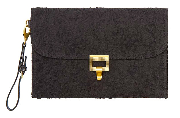 Black Lace Clutch Purse by Jason Wu by nazmiyal