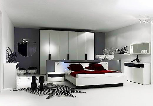Black and White Minimalist Bedroom Interior Design Trends - Nazmiyal