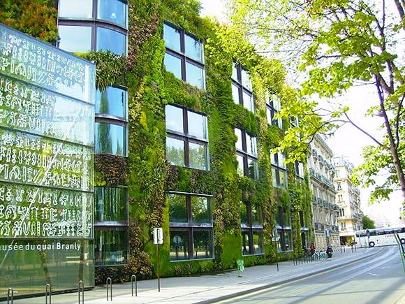 Emerald Green Solar Design Musee Du Quai Branly Paris - Nazmiyal