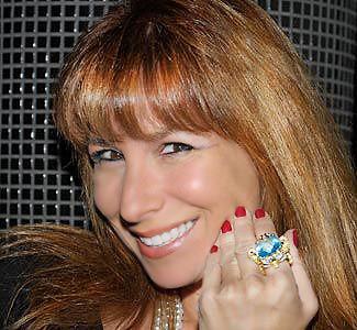 Jill Zarin Wearing Elizabeth Taylor's Ring by nazmiyal