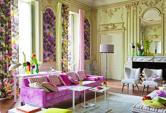 Living Room Interior Design Color Trends by nazmiyal
