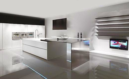 Modern Minimalist Kitchen Interior Design Trends - Nazmiyal