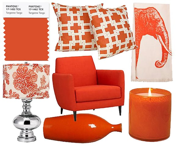 Panton Color Of The Year 2012 Tangerine Tango - Nazmiyal