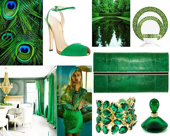 Panton Color Of The Year 2013 - Emerald Green - Nazmiyal