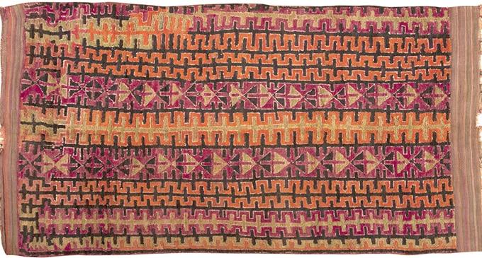 Purple Vintage Moroccan Rug Nazmiyal