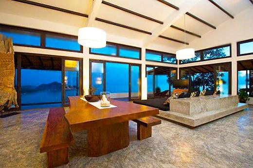 Vacation Home Dining Room Interiors Nazmiyal