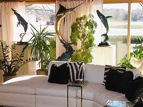 Vacation Home Living Room Interior Design Nazmiyal