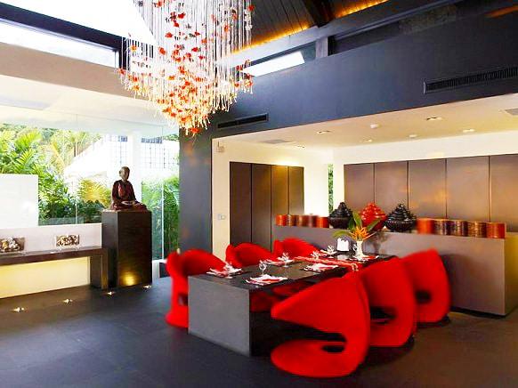Vibrant Vacation Home Dining Room Decor Nazmiyal
