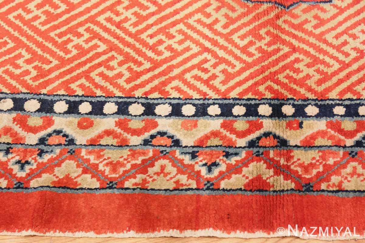 Border Antique Tibetan rug 45640 by Nazmiyal