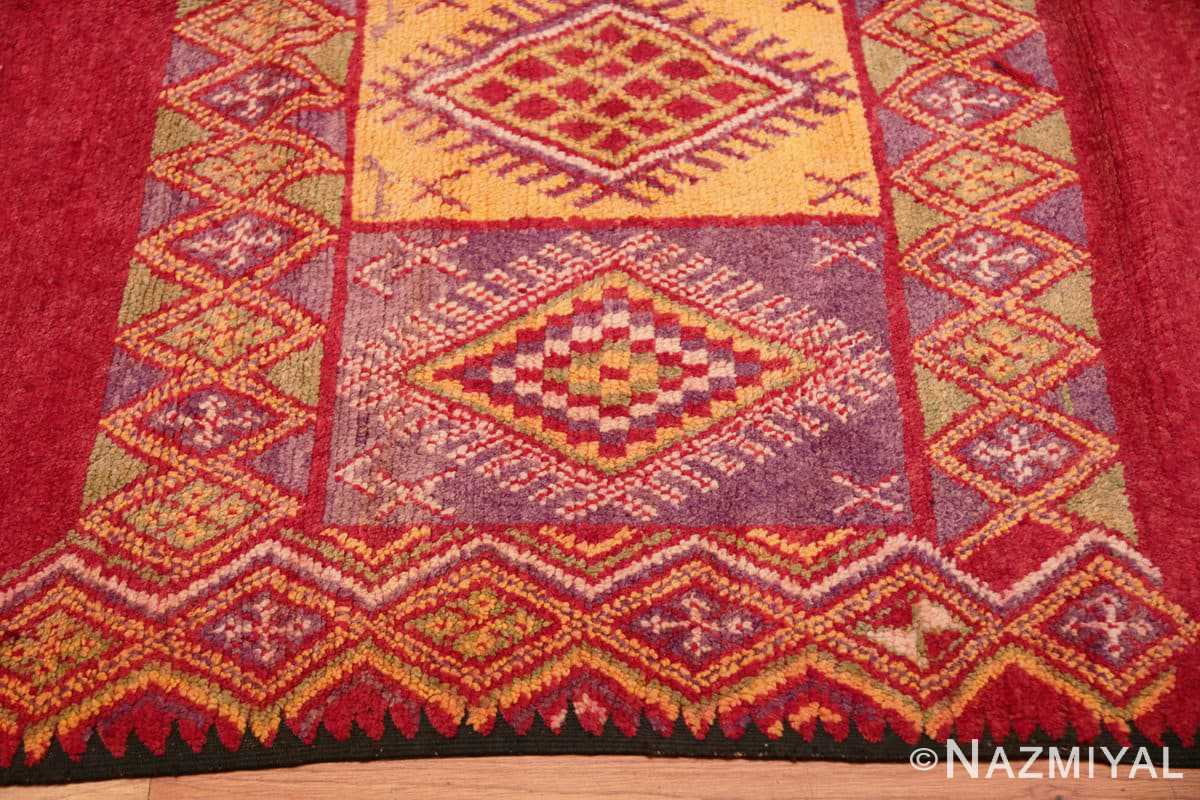 Border Vintage Moroccan rug 45751 by Nazmiyal