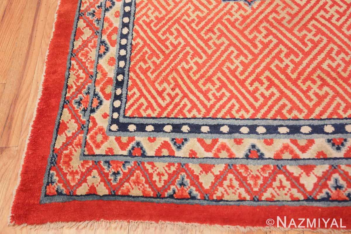 Corner Antique Tibetan rug 45640 by Nazmiyal